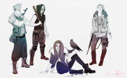 character-doodles-team-ravens