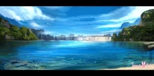 fantasy-lake-painting