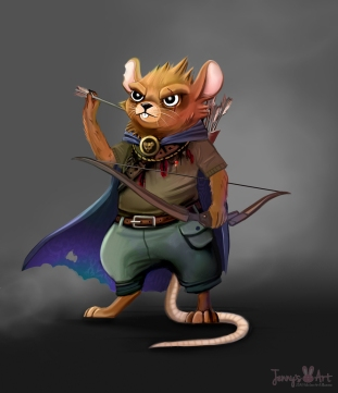 mousey-warrior